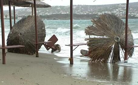 Grecia, lovită de rafale de vânt care au depășit 100 de kilometri pe oră