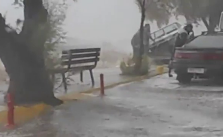 Ciclonul Zorba a ajuns în Turcia, după ce a spulberat Grecia. Dezastrul lăsat în urmă