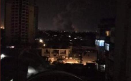 Explozie puternică într-o zonă frecventată de străini din Kabul. VIDEO