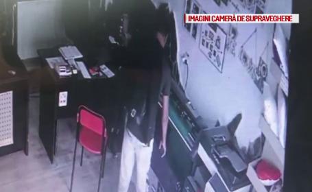 Cum reușește un hoț să fure de 2 ori din același magazin, la interval de câteva minute
