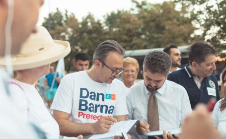 Paleologu a semnat pentru candidatura lui Barna