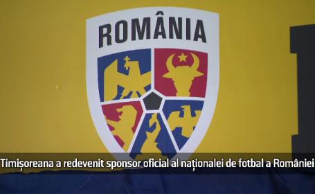 Timișoreana a revenit sponsor oficial al Naționalei de Fotbal a României