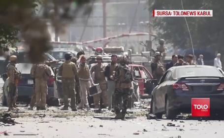 Filmul atacului din Kabul, soldat cu moartea unui militar român. Cum au acționat talibanii