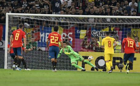 Portarul Tătăruşanu, după meciul cu Spania: \