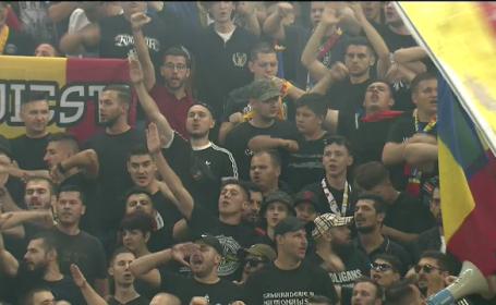 Momentul de reculegere de pe Arena Națională, la un pas să fie stricat de huiduieli. VIDEO