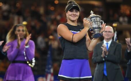 Bianca Andreescu, campioană la US Open