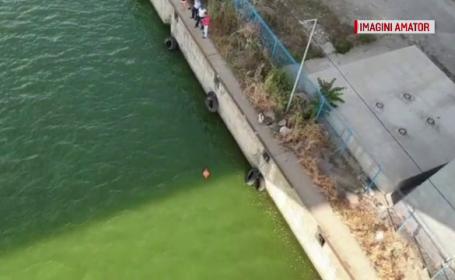 O femeie a fost scoasă de scafandri din canalul Dunăre-Marea Neagră