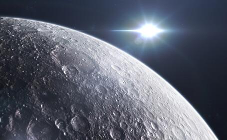 Descoperire uluitoare. Cercetătorii susțin că pe suprafața Lunii pot exista metale prețioase