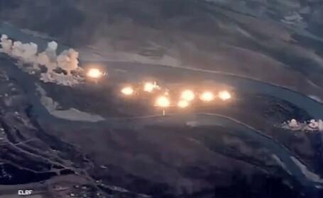 """Momentul in care SUA au lansat 36 tone de bombe intr-o """"insula infectata"""" a ISIS"""