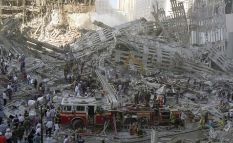 Fotografii nemaivăzute cu dezastrul provocat de atacul terorist din 11 septembrie