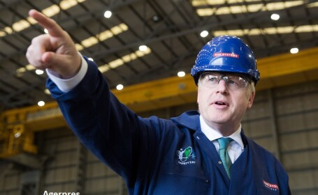 Boris Johnson - Agerpres