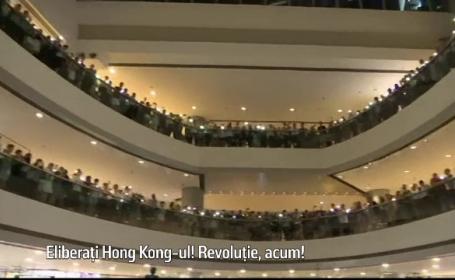Protest în mall