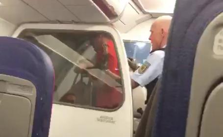 Un zbor a aterizat de urgenţă din cauza unor pasageri români. Ce au făcut în avion