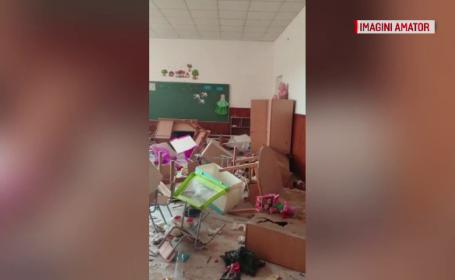 Unde au fost găsiți cei 3 băieți din Clejani, după ce au făcut pagube de 50.000 de lei la școală