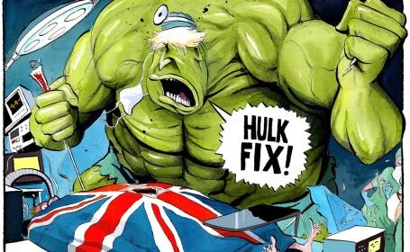 Boris Johnson, pus la punct de Mark Ruffalo, după ce a comparat Marea Britanie cu Hulk