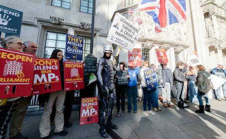 Brexit. Protest în fața Curții Supreme din UK - 2