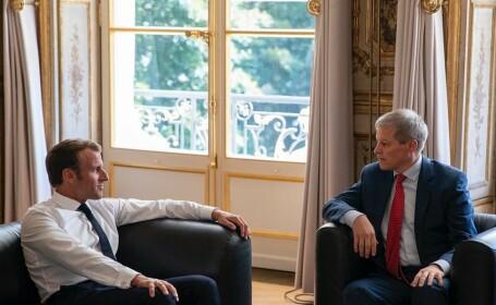 """Macron şi Cioloş, discuții despre echipa Von der Leyen: """"Nu dau niciun cec în alb nimănui"""""""