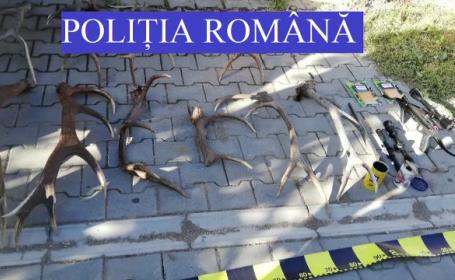 Şase persoane din Mureş sunt cercetate penal într-un dosar de braconaj