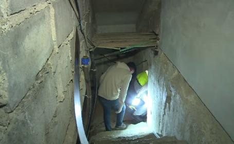 Cadavru găsit în subsolul unui bloc din Târgovişte. \