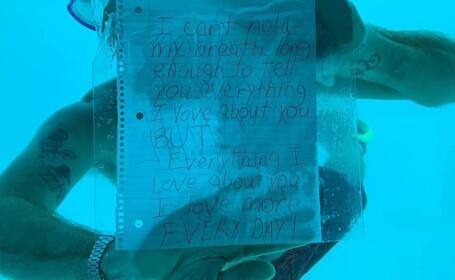 Un bărbat s-a înecat în timp ce își cerea iubita în căsătorie. Cum a reacționat femeia