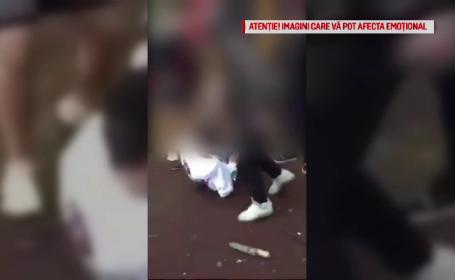 Scene violente într-un parc din București. Un minor, bătut crunt pentru o sumă de bani