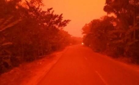 Cer roșu în Indonezia