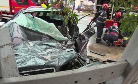 A condus fără permis și a ajuns la spital. Ce a făcut un șofer care a văzut accidentul