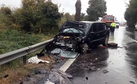 Accident grav la Bujoreni, Vâlcea