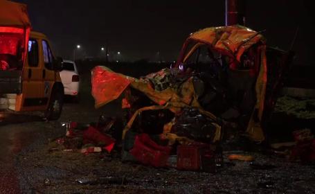 Tragedie pe DN2: 3 persoane au murit, iar alte 4 au fost rănite, într-un grav accident