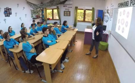 FEMEIA CA O PRADĂ. Singură școală din Capitală unde se vorbește despre violența domestică