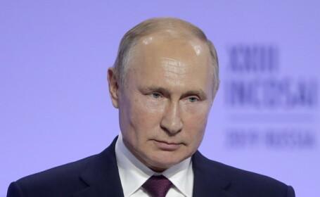 Putin cere retragerea din Siria a tuturor forţelor militare străine neautorizate