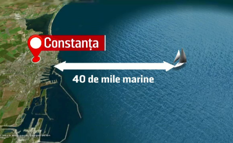 Alertă pe Marea Neagră. Ce a pățit de fapt velierul unui austriac, dat dispărut