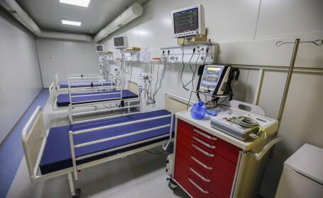 Spitalul Mobil de la Lețcani se închide pentru igienizare. Ce se întâmplă cu bolnavii de COVID