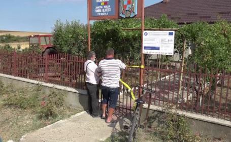 O primărie din județul Vaslui a rămas fără banii de salarii, după ce hoții au furat caseta de valori