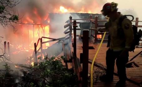 Incendii în SUA
