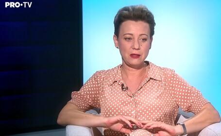 Interviu cu actrița Mirela Oprișor: \