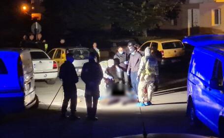 Crimă șocantă în Sibiu. Un bărbat de 28 de ani a fost găsit înjunghiat în mijlocul străzii