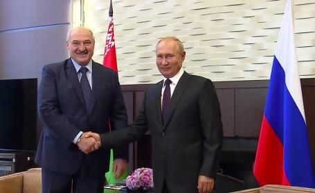 Putin și Lukașenko