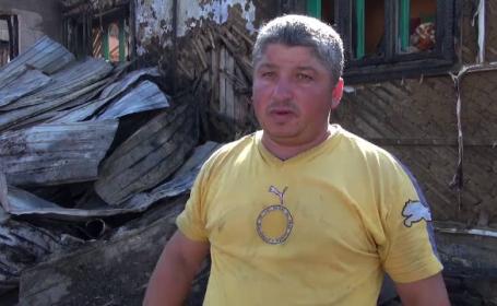 Dramă uriașă pentru trei familii din Bacău. Casele li s-au făcut scrum în câteva minute