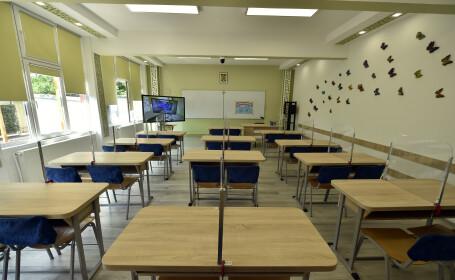 scoala, clasa goala