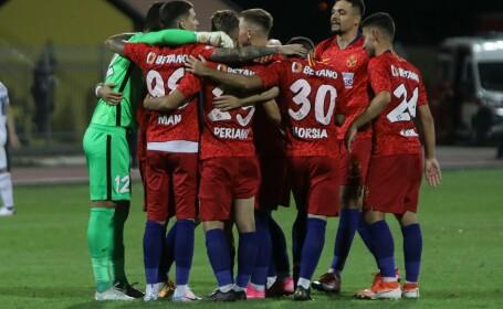 Record istoric în meciul câștigat de FCSB în Liga Europa, în fața sârbilor de la Backa Topola
