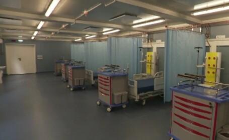 Secția ATI a unui spital din Capitală a fost închisă