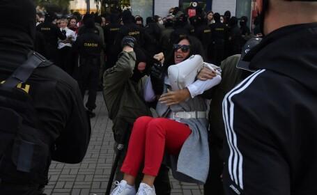 proteste, Belarus