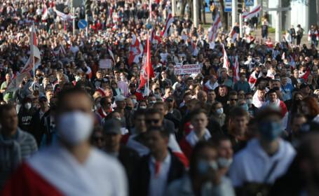 Protest la Minsk