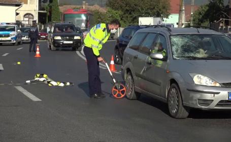 Accident grav în Alba Iulia. Bătrân de 85 de ani, spulberat de o mașină