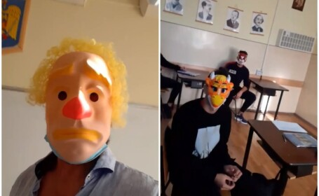 Cum a fost sancționat profesorul din Oradea care şi-a îndemnat elevii să nu poarte mască