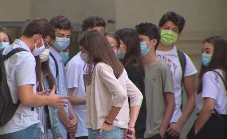 Un liceu din Galați și căminul pentru elevi, închise după apariția unor cazuri de Covid-19