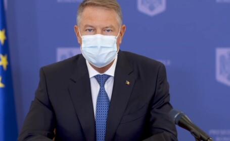 Klaus Iohannis:Mergeți la vot. Dacă vom respecta măsurile, riscul infectării e redus. Ce spune despre un lock-down în România
