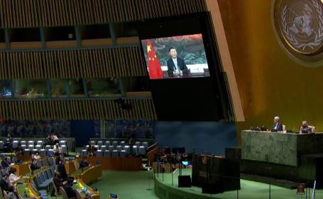 Adunarea Generală ONU se desfășoară anul acesta online. Tensiuni majore între SUA și China
