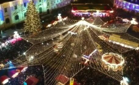 Cum se vor desfășura târgurile de Crăciun în marile orașe. Măsuri speciale în aer liber